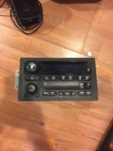 OEM GMC Sierra cd radio