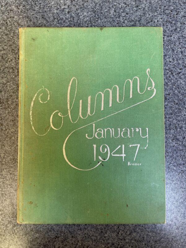 Woodrow Wilson Vocational High School Yearbook 1947 Columns