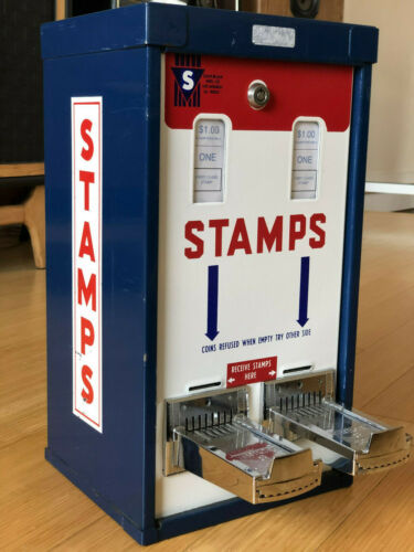Great SHIPMAN Stamp Vending Machine with Lock and Key - Business Ready