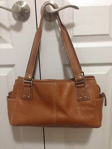 Fossil Camel Leather Purse