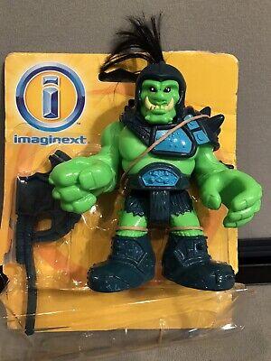 Fisher Price Imaginext Knights Eagle Talon Castle Orc Green Ogre Axe New No Box