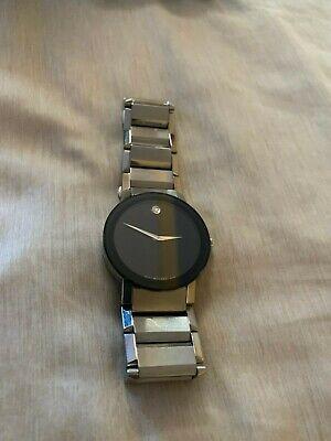 Movado Sapphire Mens Watch 606092 Retail $1795