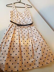 Forever New Size 8 Polka Dot Dress Wollongong Wollongong Area Preview