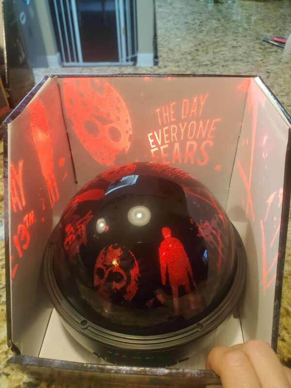 FRIDAY THE 13TH JASON VOORHIES Tabletop Projector Shadow Lights Halloween New