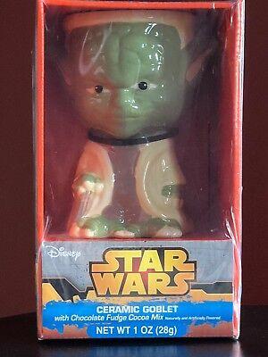 (Disney Star Wars Ceramic YODA Goblet~New In Box (unopened))