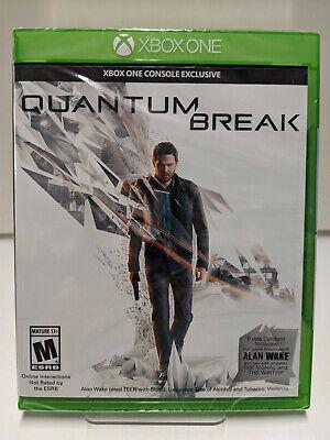 Quantum Break XBOX One Factory Sealed