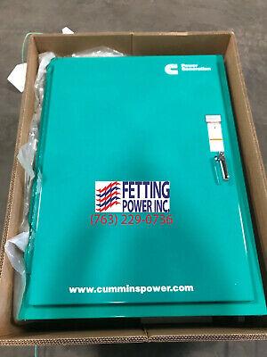 New 100 Amp Cummins Otecsea Automatic Transfer Switch 240v Sn F120356681