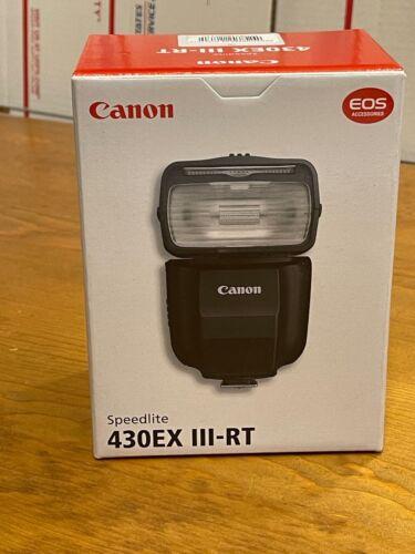 Canon Speedlite 430EX III-RT - USA New!