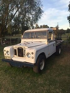 Land Rover Series 2 A Mount Gambier Grant Area Preview
