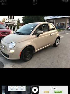 2012 FIAT 500 FULL EQUIPPED LEATHER AND WINTER TIRES