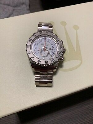 Pre Owned Rolex Yachtmaster 2 White Gold & Platinum 116689 - for sale  Norwalk