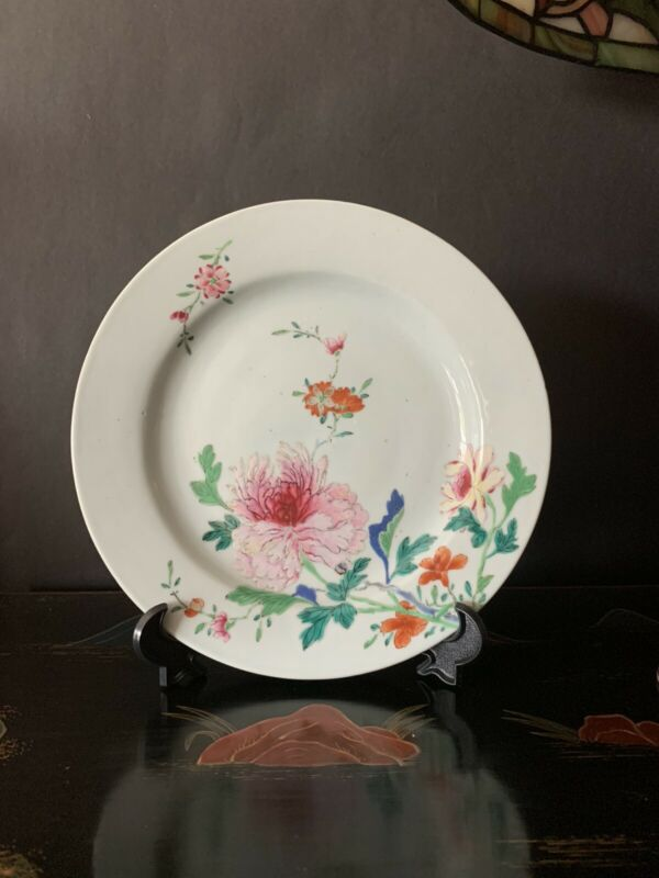 19th Century Chinese Export Plate