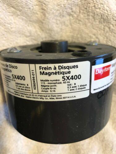 DAYTON 5X400 MAGNETIC DISC BRAKE 115V 60Hz