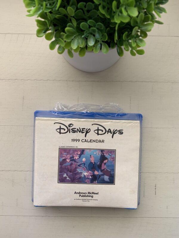 Vintage 1999 Disney Days Calendar