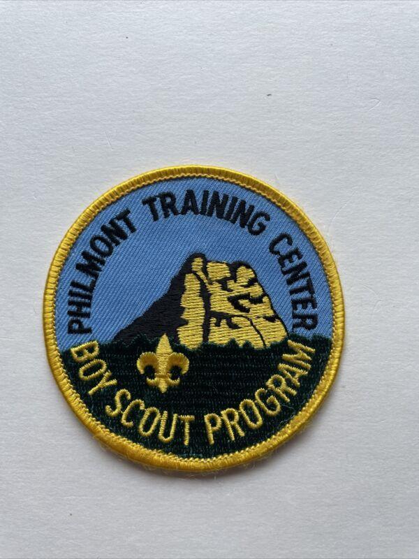 BSA Philmont Training F Round Patch