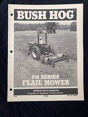Bush Hog Fh Series Flail Mower Operators Manual 797