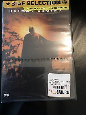 DVD Batman Begins von Chr. Nolan mit Christian Bale, Michael Caine, Liam...