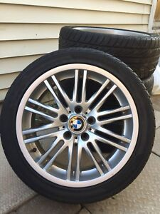 """18 """" BMW  M  RIMS AND TIRES"""