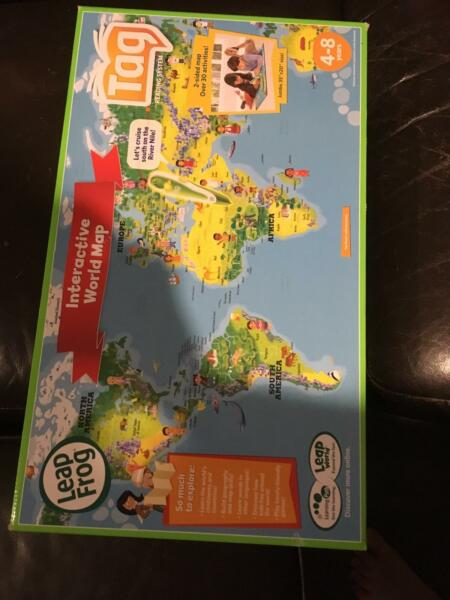 Leapfrog interactive world map toys indoor gumtree australia gumtree does not support puppy mills gumiabroncs Gallery