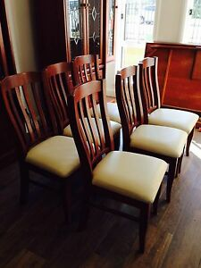 Set of six chairs Casula Liverpool Area Preview