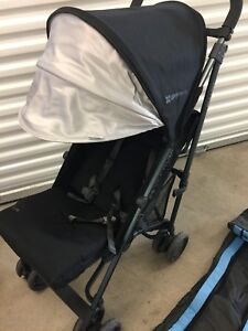 2017 Uppababy G- Luxe Umbrella Stroller Jake Black with