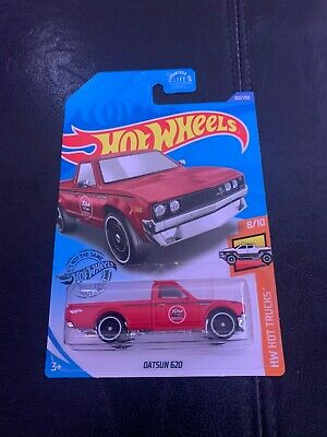 Hot Wheels Case L Datsun 620 HW Hot Trucks 8/10