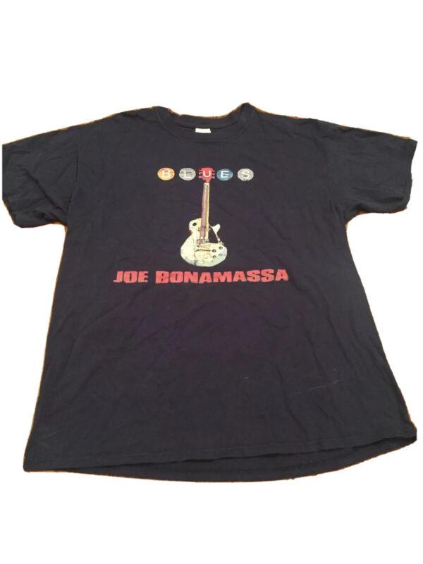 VINTAGE JOE BONAMASSA T SHIRT Size Large    Blues Guitar Concert Tour Rare Rock