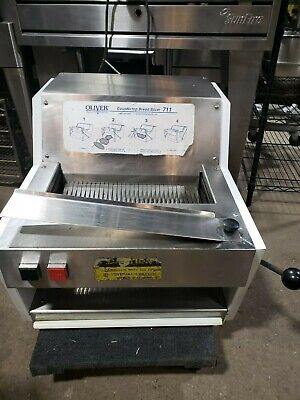 Oliver 711 Commercial Counter Top Bread Slicer Machine