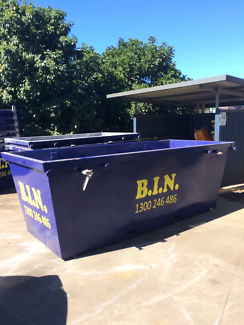 Yard in a mess? Dont stress! Get a skip and avoid double handling
