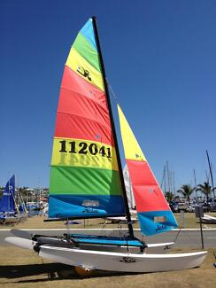 Hobie cat 16 112041 Excellent, Race ready Manly Brisbane South East Preview