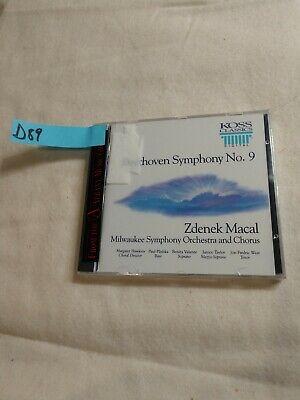 (D89) Beethoven: Symphony No. 9 (CD, Oct-2006, Koss)
