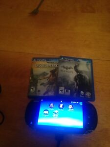 Ps Vita System with two games