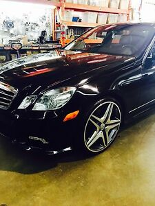 2010 Mercedes Benz E350 4MATIC AMG