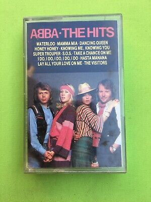 ABBA - The Hits - Original Cassette Tape - Compilation