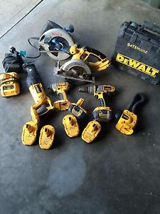 Dewalt kit and Bosch Rosny Clarence Area Preview