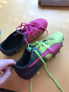 Puma outdoor soccer shoes size 4.5