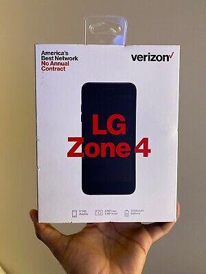 Verizon Prepaid Zone 4 with 16GB Memory Prepaid Cell Phone  LG sealed Brand new