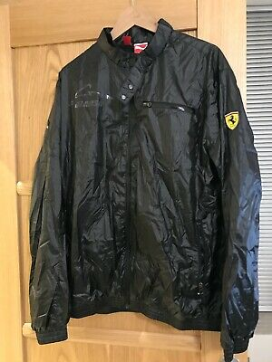 Puma Ferrari Alonso Light Weight Jacket Size UK L