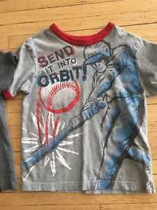 Boys t-shirts size  5/6 top $3
