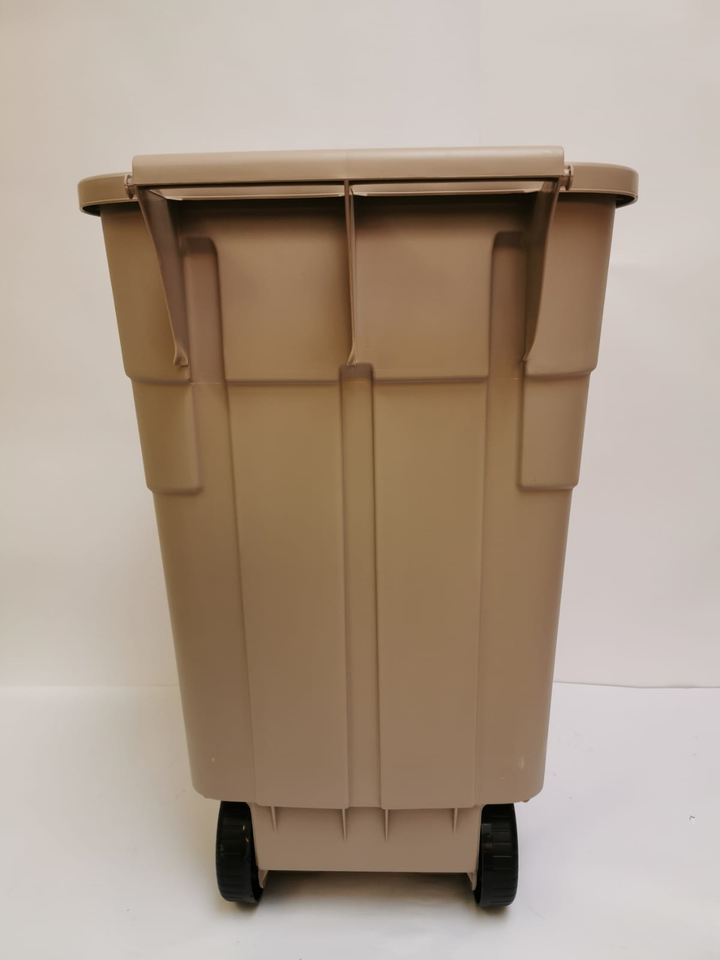 Rubbermaid Big wheel Container 100 L Beige Mülltonne NEU in Mettmann