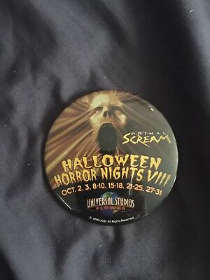 1998 Halloween Horror Nights Pin Universal Studios Orlando Button](Universal Halloween Orlando)