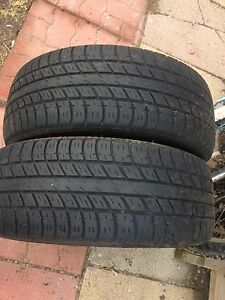 215/55/R18 M&S tires (2)
