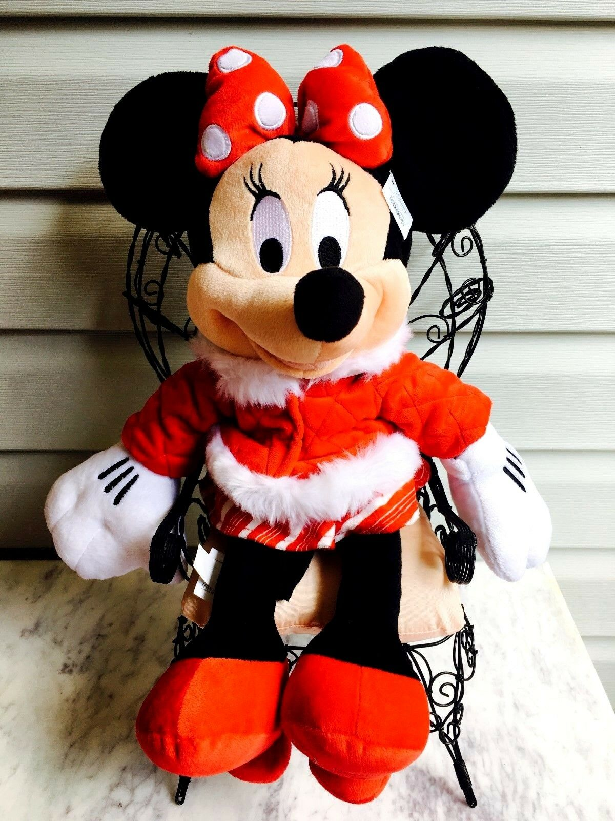 Disney Store Trim Minnie Mouse Plush 17''