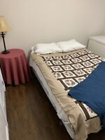 One fully furnished bedroom