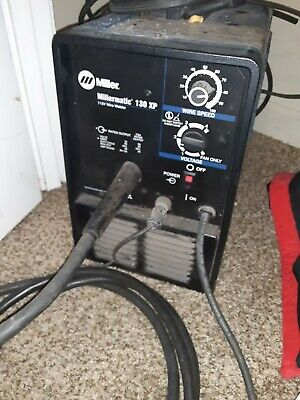 Miller Millermatic 130 Xp Welder. Not A Lot Of Use And Works Great.