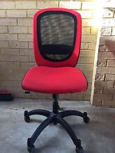 Red Ikea mesh back office chair Embleton Bayswater Area Preview