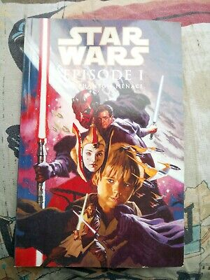 Star Wars Episode 1 Phantom Menace Graphic Novel Full Colour Movie Adaptation