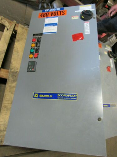SQUARE D ECONO FLEX 10 HP ADJUSTABLE SPEED DRIVE CONTROLLER B07A08A09G09M09