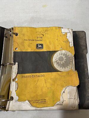 John Deere 510b Backhoe Loader Parts Catalog