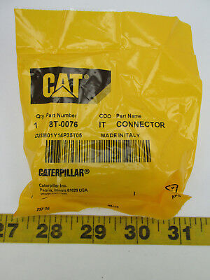 Oem Cat Caterpillar Connector 34 - 1116 Part 8t-0076 New Old Stock T